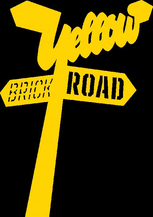 Yellow brick sjabloon